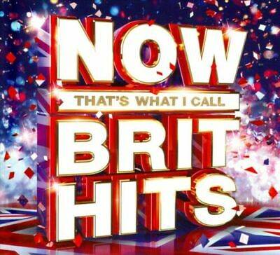 Now That's What I Call Brit Hits [New & Sealed] 3CD Boxset