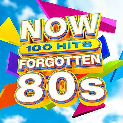 Now 100 Hits: Forgotten 80s (2019) 5-CD Set - NEW & SEALED - FREE UK DELIVERY