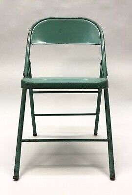 Steel Folding Chairs Turquoise Metal Wedding Party Event Portable Seating