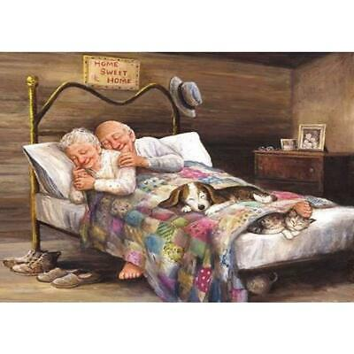 1989candy 5D DIY Full Drill Diamond Painting Happy Old Couple Cross Stitch  BF#
