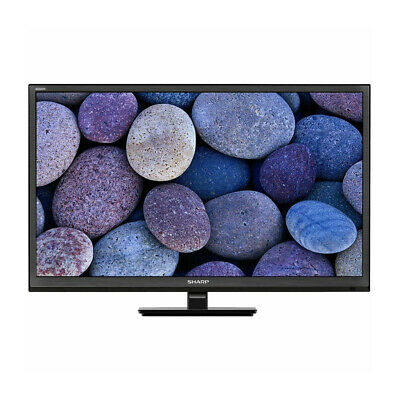 "Sharp Aquos Black 24"" inch HD Ready Smart LED TV with Freeview HD, PVR and Wi-Fi"