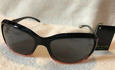 Women Ted Baker Sunglasses Britta 1186 Pink Ombre Black