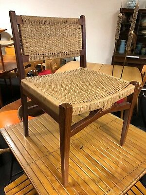 Vintage 1950's Mexican Danish Modern Mid Century Modern Lounge Chair
