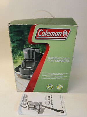 Coleman Camping Drip Coffeemaker 10Cup No Batteries No Electricity Hike A11-103