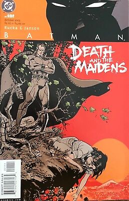 Batman: Death And The Maidens #1-9 (Rucka/Janson Art & Covers)