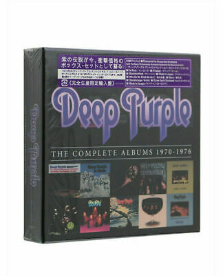 Deep purple the complete albums 1970-1976 New 10 CD Box and Factory Sealed