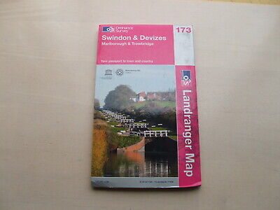 Swindon & Devizes Ordnance Survey Landranger Map 173