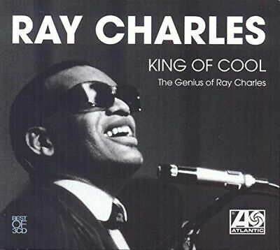 RAY CHARLES KING OF COOL 3 CD; CHARITY GEORGIA on my mind Hit the road jack SOUL