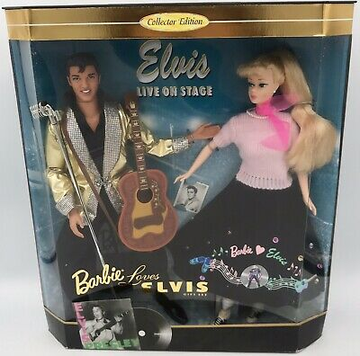SCARF BARBIE BARBIE LOVES ELVIS PINK NECK SCARF ACCESSORY CLOTHING ACCESSORY