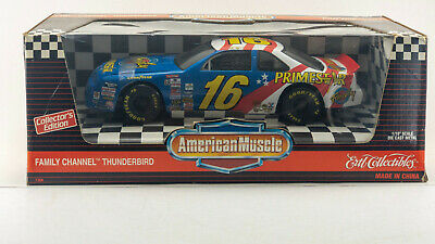 Ertl American Muscle Ford Thunderbird 16 Family Channel 1:18 Nascar Ted Musgrave