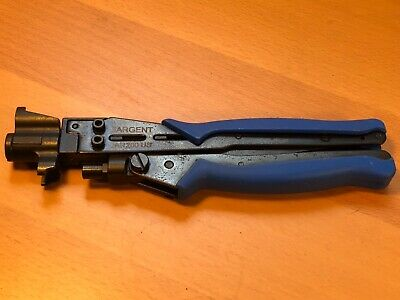 Sargent Sar-200 Us Compression Crimping Tool Rg6 Rg59 Rg7 Rg11 Cable Connectors