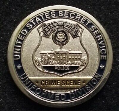 RARE CRIME SCENE Search Unit USSS United States Secret Service Challenge  Coin