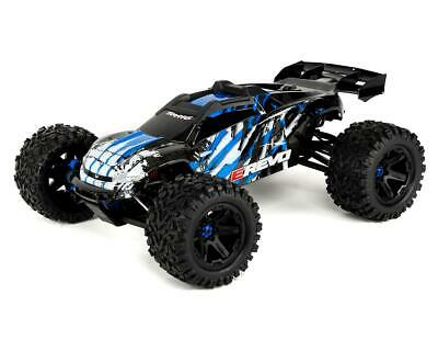 TRA86086-4-BLUE Traxxas E-Revo VXL 2.0 RTR 4WD Electric 6S Monster Truck (Blue)