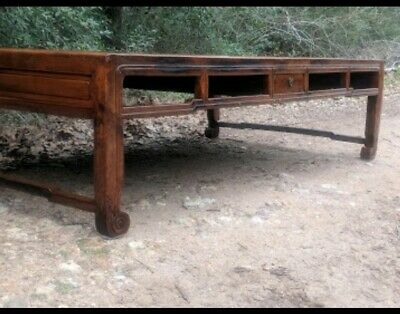 Antique Authentic Chinese QING Dynasty Daybed! Rosewood? VERY RARE!