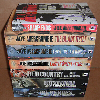 THE FIRST LAW Collection Lot of 7 Books by Joe Abercrombie