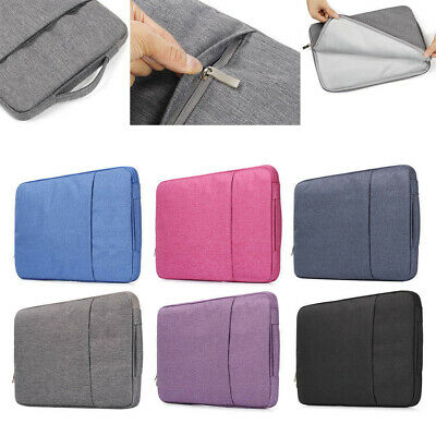 Bag Sleeve Case Cover Notebook Pouch For MacBook Air Pro Retina 11.6 13.3 15.4