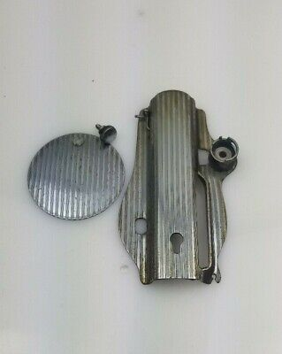 Vintage Singer Model 15-91 Sewing Machine Parts Face Plate & Arm Side Cover