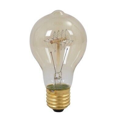 E27 40W Vintage Retro Filament Edison Tungsten Light Bulb Antique Style Lam L1N7
