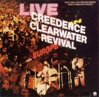 CREEDENCE CLEARWATER REVIVAL Live In Europe CD