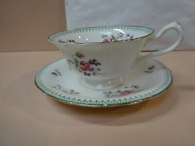 Antique Cup & Saucer .Ford's China,ENGLAND.Hallmark 1900 s.