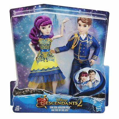 Disney Descendants Two-Pack Ben Auradon Prep and Mal Isle Of The Lost Brand NEW