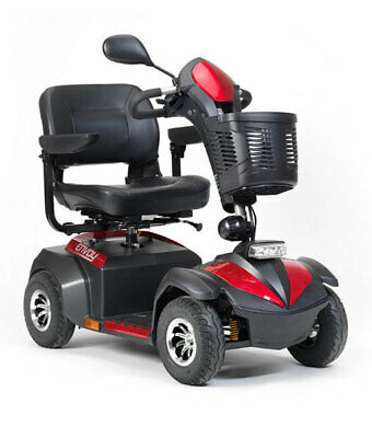 MOBILITY SCOOTER ENVOY headlights, 48klm range, 160KG weight capacity, RRP $3200