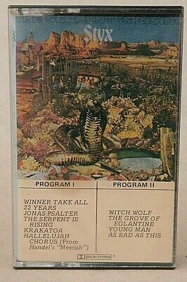 Styx *** The Serpent Is Rising - Cassette - 1973 - Wooden Nickle Records