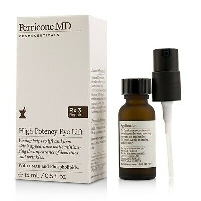Perricone Md High Potency Lift For Eye Treatments +Dmae & Phospholipids 15Ml New