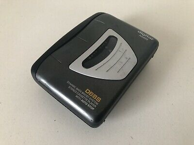 Digitor Walkman Model: A4899 Personal Stereo Cassette In Working Condition