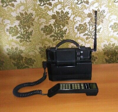 Carry Phone- Telefono Cellulare A Valigetta-Gsm Vintage Anni 80/90