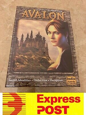 Don Eskridge's The Resistance Avalon Board Game, AU Stock, Express Post