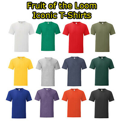 Fruit of the loom T-shirts Short sleeve
