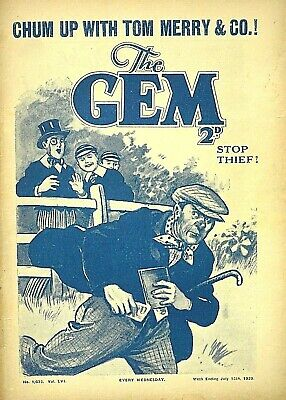 THE GEM - 15th JULY 1939 - RARE 80 YEAR OLD MAG !! VGC..beano dandy magnet rover