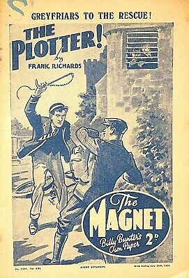THE MAGNET - 29th JULY 1939 - RARE 80 YEAR OLD MAG !! VGC..beano dandy gem rover