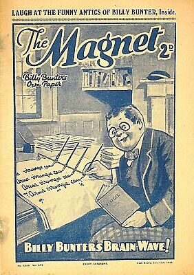THE MAGNET - 15th JULY 1939 - RARE 80 YEAR OLD MAG !! VGC..beano dandy gem rover