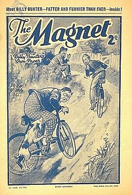THE MAGNET - 8th JULY 1939 - RARE 80 YEAR OLD MAG !! VGC...beano dandy gem rover