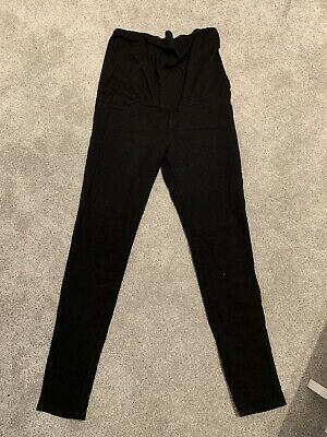 H&M Thick Maternity Over The Bump Leggings/treggings Size M (fits 14)