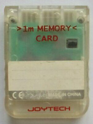 Memory Card Playstation 1 One PS1 PSOne PS PSX