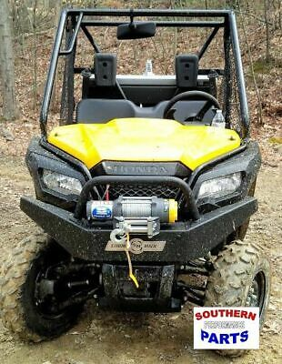 Strong Made Winch Series Front Bumper Honda Pioneer 500 2015-2020
