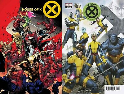 HOUSE OF X #4 Main + Molina Connecting Variant Set Marvel 2019 NM