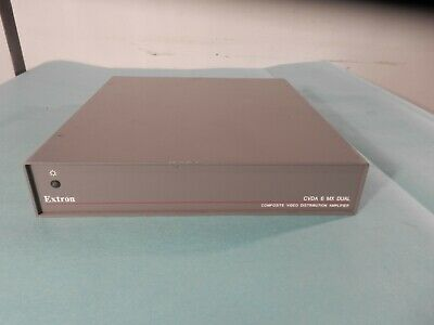 EXTRON CVDA 6 MX DUAL Composite Video Distribution Amplifier