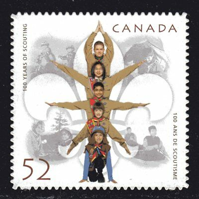 2007 Canada SC# 2225i - 100 Years of Scouting - die cut Lot 107b - M-NH