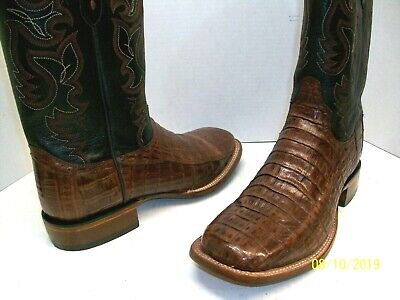44c3a35bdf6 LUCCHESE M1646 Ultra Belly Caiman Tail 10.5 D Men's Boots - $239.00 ...