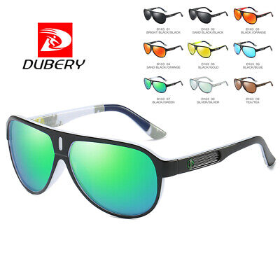 DUBERY Mens Womens Polarized Sunglasses Driving Fishing Skiing Sports Eyewear