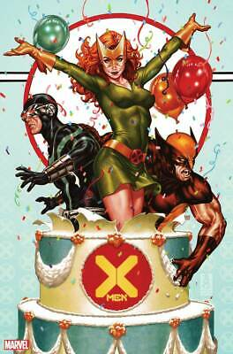 X-MEN #1 Mark Brooks Party Variant Hickman Marvel 2019 NM+ 10/17 PRESELL
