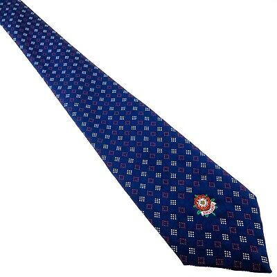 THE ENGLISH TIE Mens Tie Vintage Navy Blue for THIS ENGLAND
