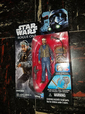 "Disney Rouge un Hasbro Star Wars Bodhi Rook 3-3//4/"" DA COLLEZIONE ACTION FIGURE"