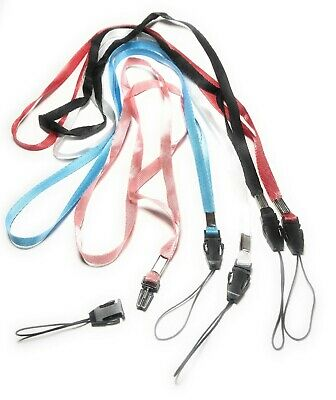 5x Neck Strap Cord Lanyard for Mp3 Cell Phone Camera USB Flash Drive ID USA 16""