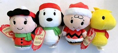Peanuts Holiday: Charlie Brown, Snoopy, Lucy, Woodstock, Hallmark Itty Bitty new