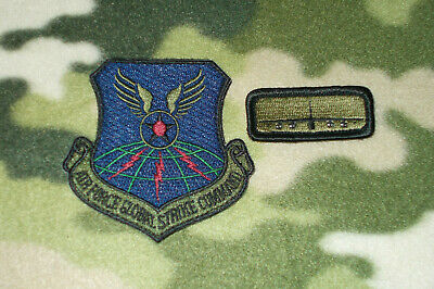"""AIR FORCE GLOBAL STRIKE COMMAND MORALE /""""FRIDAY/"""" B-52 PATCH"""